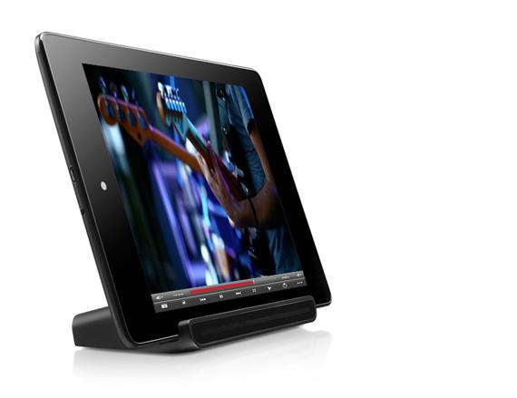 Alcatel Evo 8HD, Με 8 ίντσες και αλουμινένιο σώμα