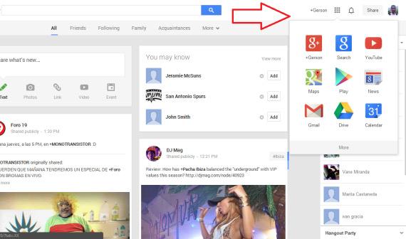 google nav new flat logo