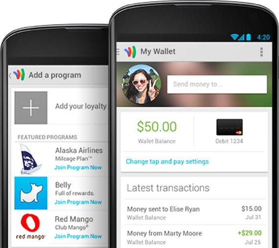 Google Wallet, Για όλα τα Android smartphones χωρίς NFC