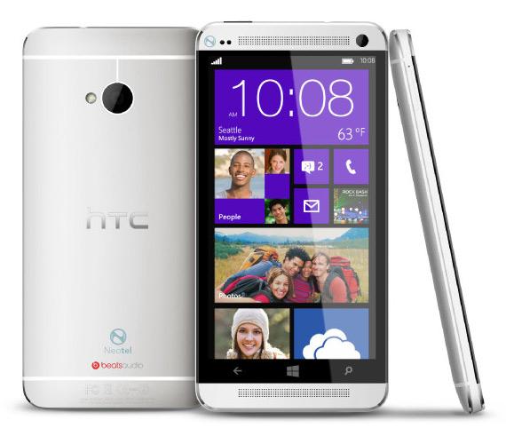HTC One with Windows Phone 8