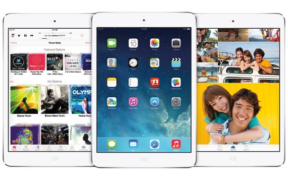 iOS 7 update iPad