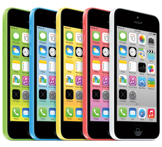 iPhone 5C official
