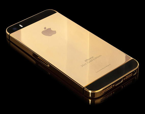 iPhone 5S 24k gold edition