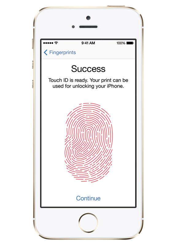 Touch ID, Τα δακτυλικά αποτυπώματα γίνονται κλειδί