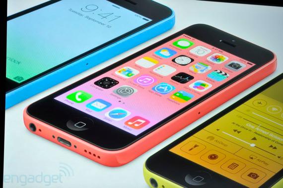 new iPhone 5C