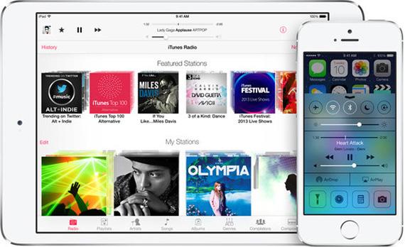 iOS 7, Μαζικό downloading από τους χρήστες
