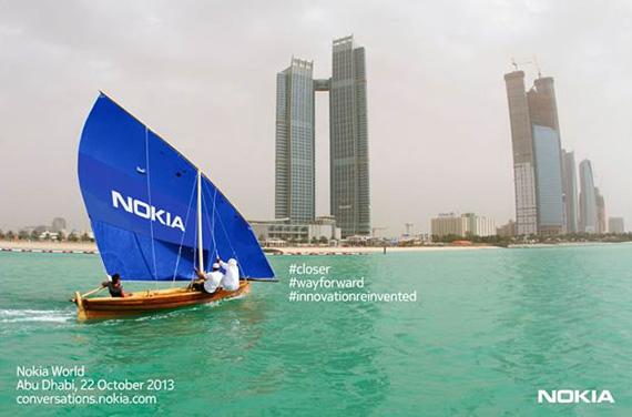 Nokia World, Στο Άμπου Ντάμπι στις 22 Οκτωβρίου