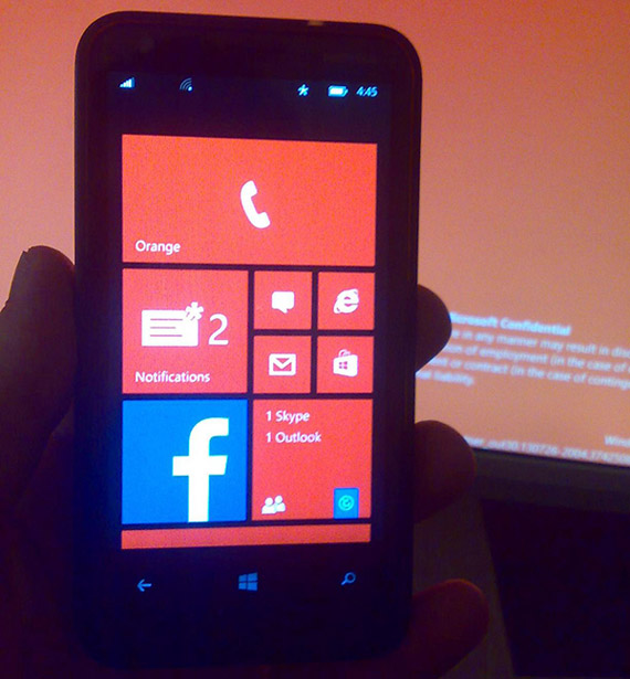 Windows Phone 8.1, Φωτό από το notification center