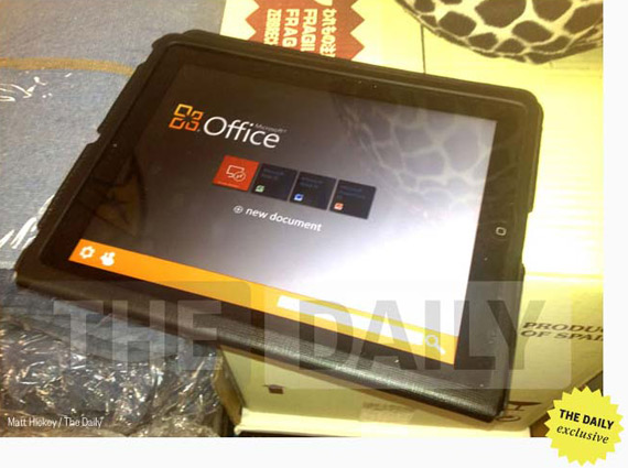 Microsoft Office στο iPad