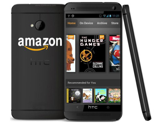 Amazon smartphone made by HTC