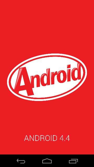 Android 4.4 KitKat screenshots