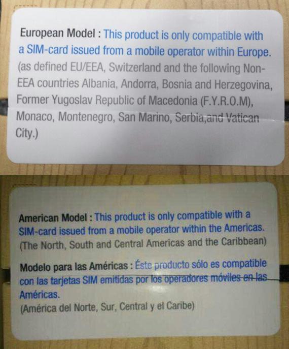 Galaxy Note 3 regional SIM lock