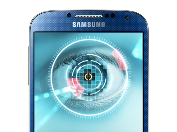 Galaxy S5 eye scanner
