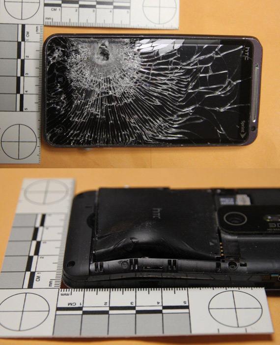 HTC Evo 3D bullet