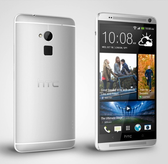HTC One Max revealed