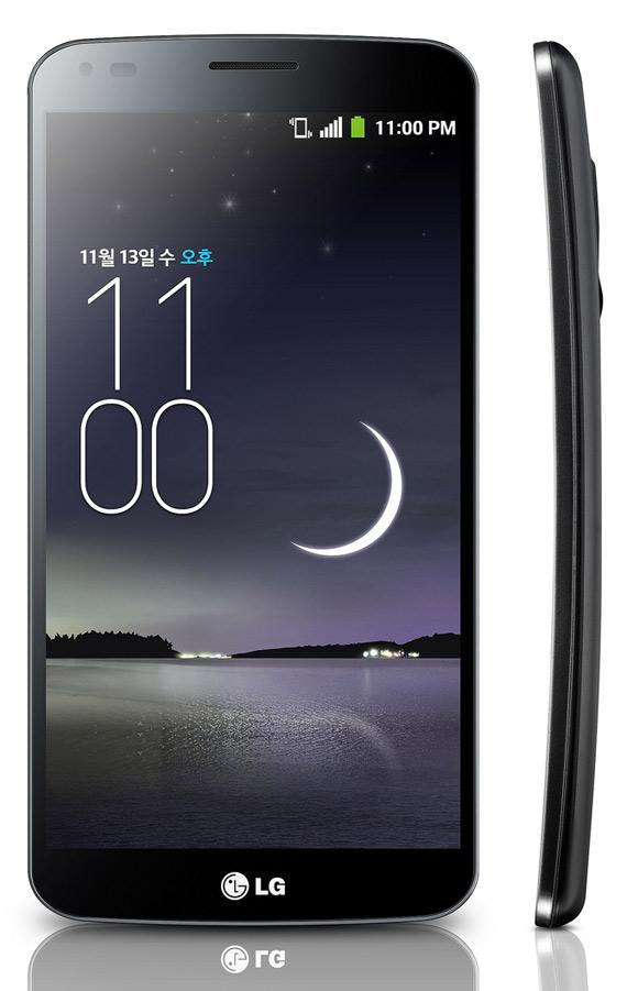 LG G Flex revealed