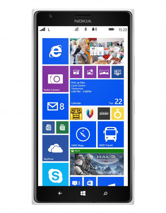 Nokia Lumia 1520 revealed