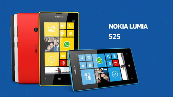 Nokia Lumia 525, Με έμφαση στη μουσική