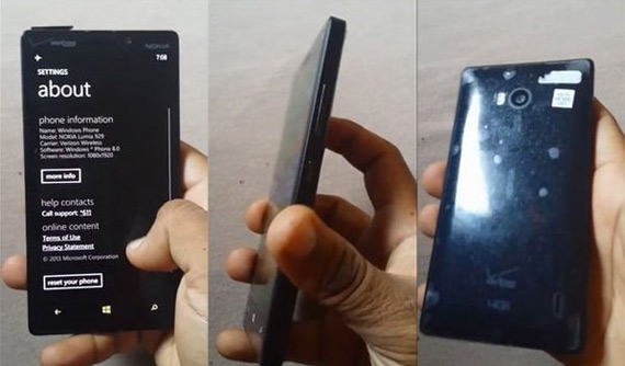 Nokia Lumia 929 Verizon photos leaked
