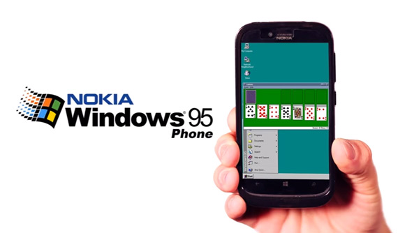 Nokia Windows 95 phone