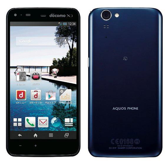 Sharp AQUOS PHONE ZETA SH-01F
