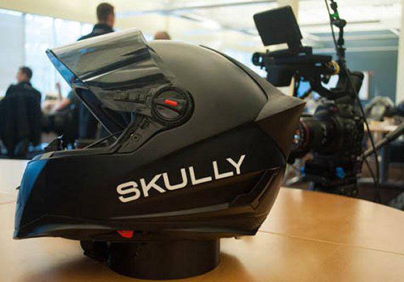 Skully Helmet P1
