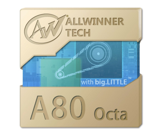 Allwiner A80 octa-core soc