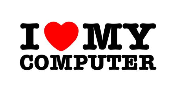 i love my computer