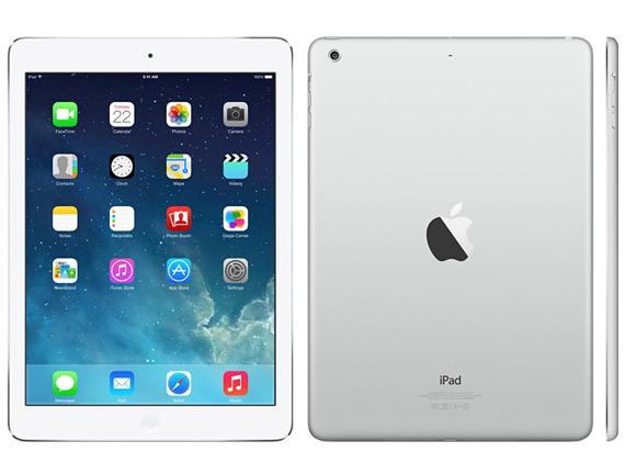 iPad Air silver white