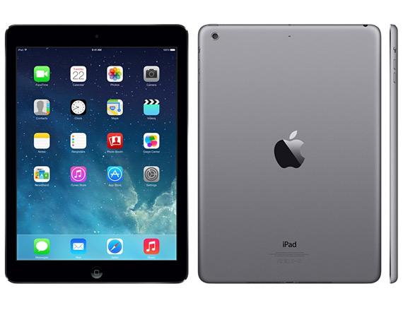 iPad Air space grey