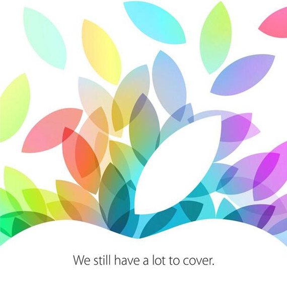 iPad event 22 October