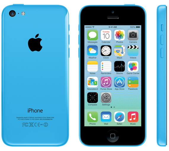 iPhone 5c blue