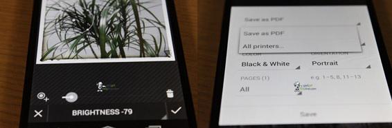 Android 4.4, Διαρροή των πρώτων screenshots