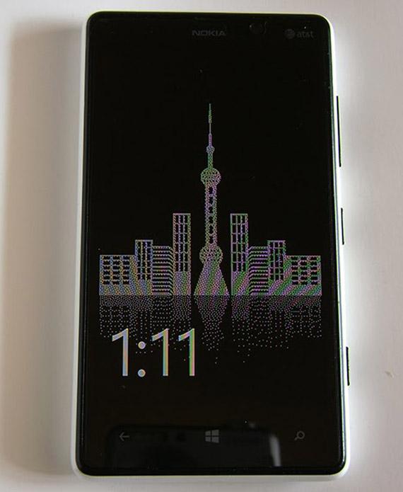 Glance Background Beta, Η Nokia αλλάζει το φόντο