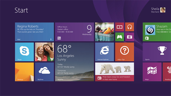 Windows 8.1 update available