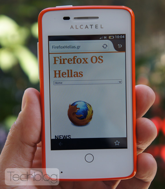 Alcatel One Touch Fire Techblog