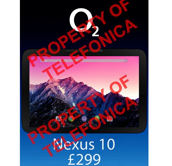 Google Nexus 10 2013 by LG