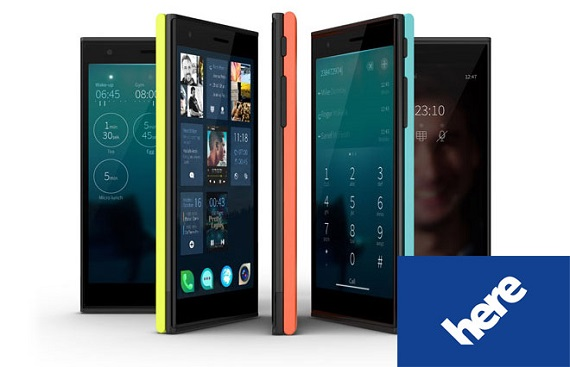 Jolla Nokia HERE