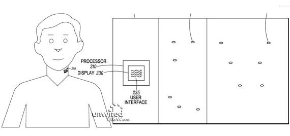 Motorola Microphone tattoo patent