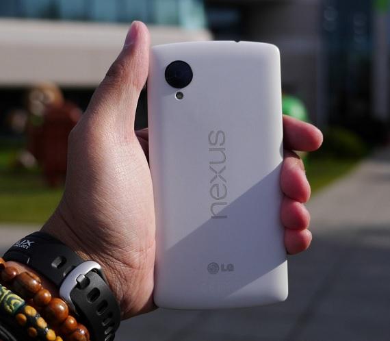 Nexus 5 drop test