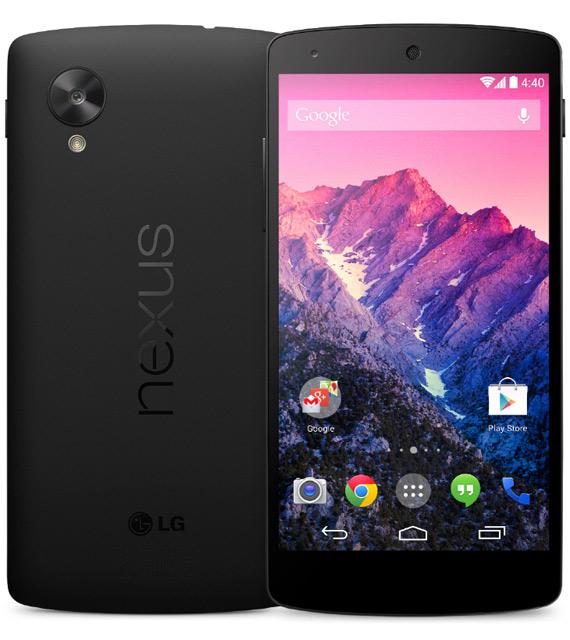 Nexus 5 πλήρη τεχνικά χαρακτηριστικά και αναβαθμίσεις
