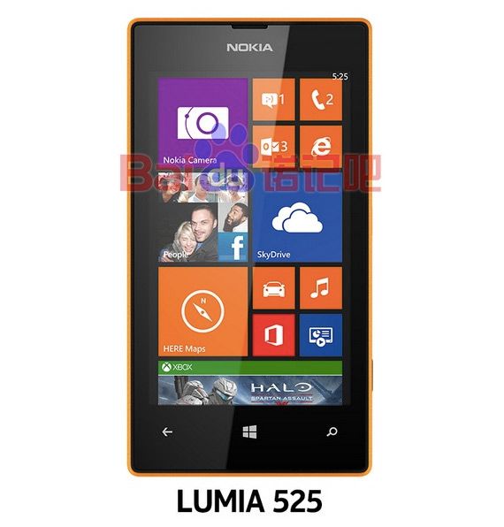 Nokia Lumia 525 leaked