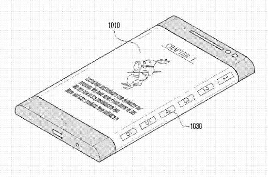 Samsung wrap around patent