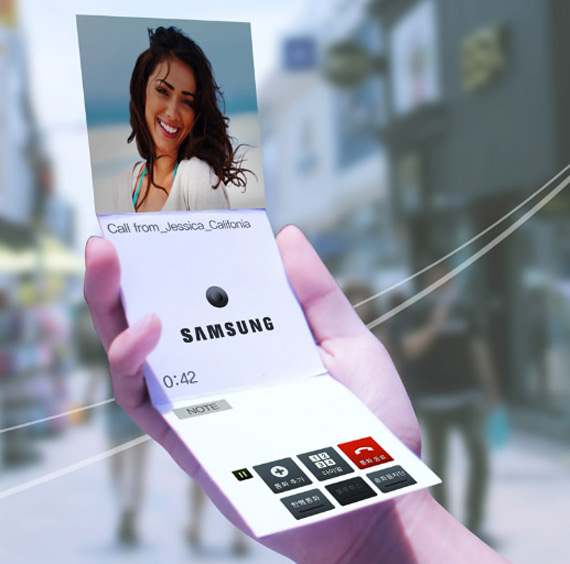 Samsung flexible display prototypes