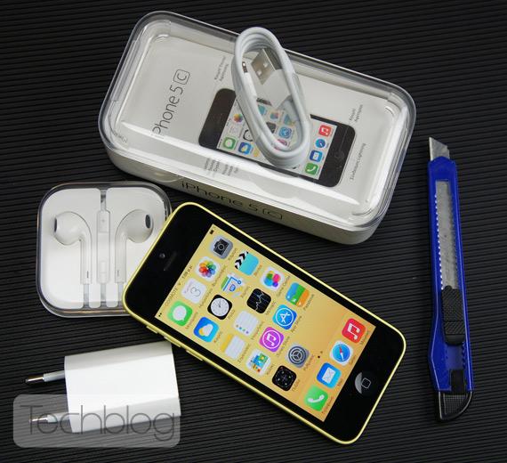 iPhone 5c unboxing Techblog