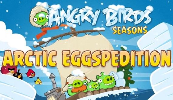 Angry Birds Seasons Arctic Eggspedition