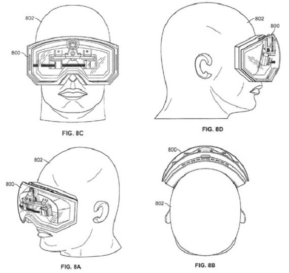 Apple Head Mount 3D Display