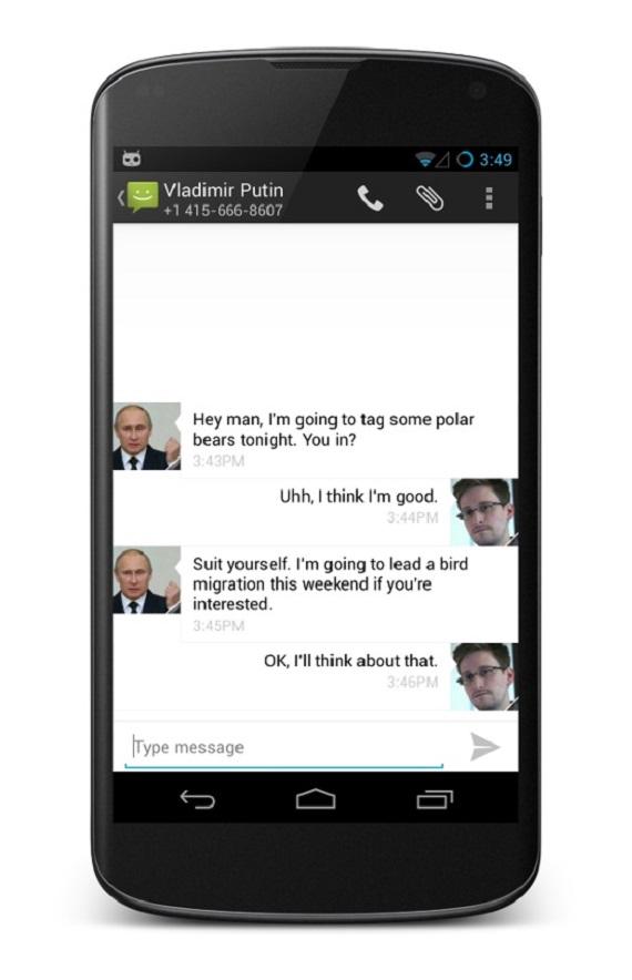 CyanogenMod Encryption SMS