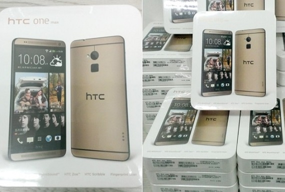 Gold HTC One max