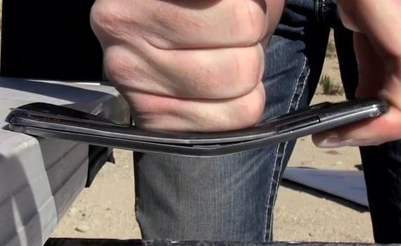 LG G Flex Torture Test